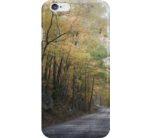 Winding Into Autumn iPhone Case/Skin