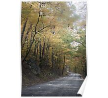 Winding Into Autumn Poster