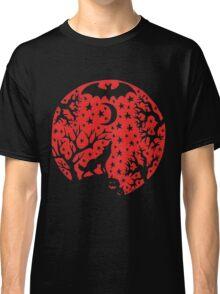 Halloween Moon T-Shirt by Allie Hartley Classic T-Shirt