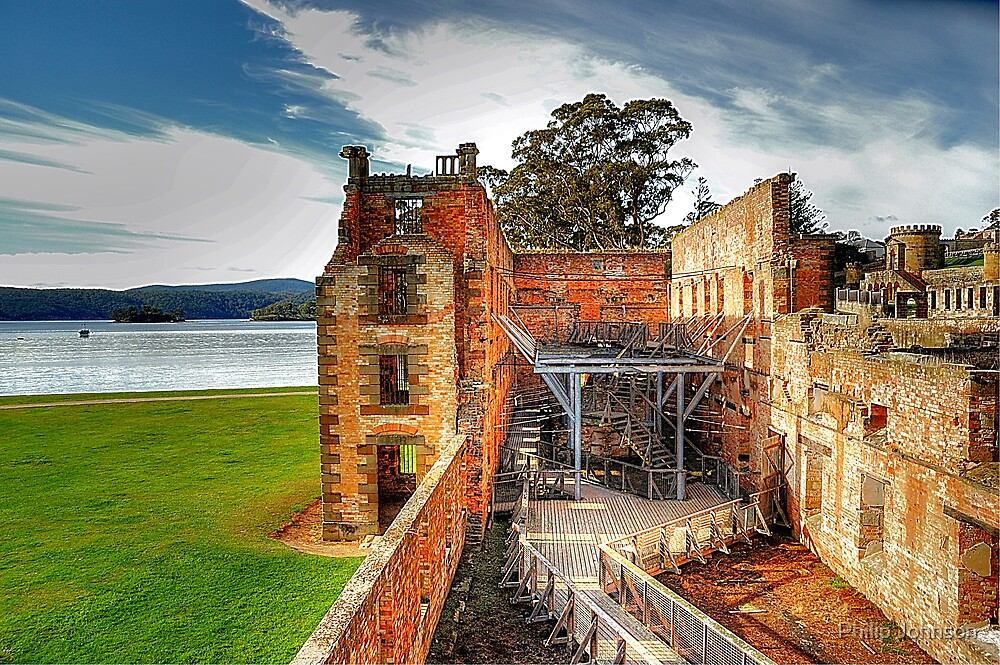 For The Term Of Their Natural Life - Port Arthur Historic Site - The HDR Experience by Philip Johnson