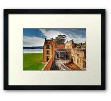 For The Term Of Their Natural Life - Port Arthur Historic Site - The HDR Experience Framed Print