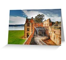 For The Term Of Their Natural Life - Port Arthur Historic Site - The HDR Experience Greeting Card