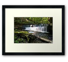 mosquito falls side Framed Print