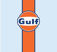 Gulf Racing Stripe by arialite