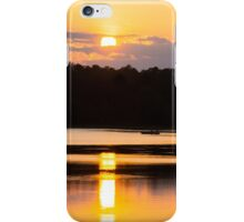 A Day On The Lake iPhone Case/Skin