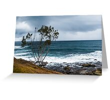 A Storm Is Coming Greeting Card