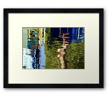 aire valley Framed Print