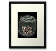 Smart Kitty Cat Framed Print