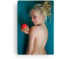 Is it eve? Canvas Print