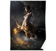 A Survivor is born Poster