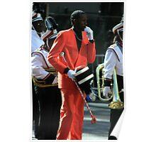 Mardi Gras Drum Major Poster