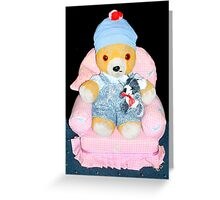 The comfy chair Greeting Card