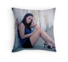 To the dogs Throw Pillow