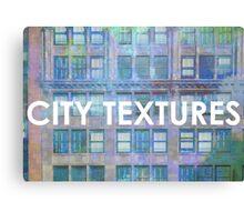 Urban Blues Textures Canvas Print
