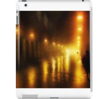 Back to the Past. Alley of Light iPad Case/Skin