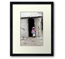 Masai Child Framed Print