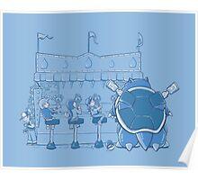 I Choose Blue Poster