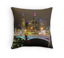 Federation Square - Melbourne Throw Pillow