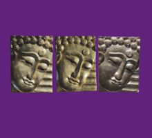 three Buddha images by DAdeSimone