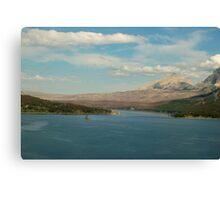 Peaceful Glacier National Park Canvas Print