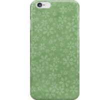 Floral Explosion - Spring Green iPhone Case/Skin