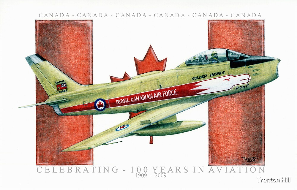 """""""Canadian Sabre"""" by Trenton Hill"""