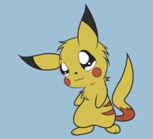 pokemon pikachu pichu cute chibi anime shirt by JordanReaps