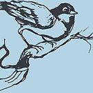 Bird Song Spring Time by John Fish