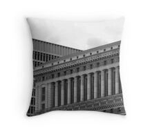 intersecting lines Throw Pillow