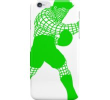 Smash WireMacGreen iPhone Case/Skin