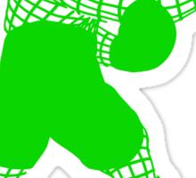 Smash WireMacGreen Sticker
