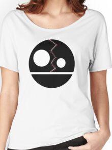 Split Face Women's Relaxed Fit T-Shirt