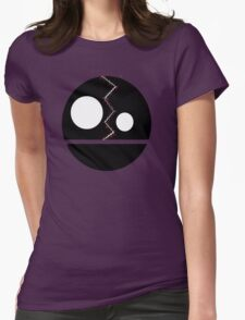 Split Face Womens Fitted T-Shirt