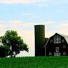 Red Barn Perfect by kkphoto1