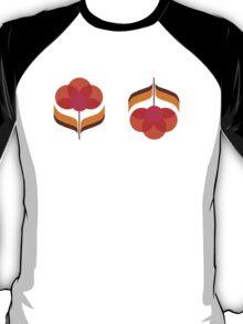 Retro Flower - White T-Shirt