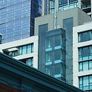 Downtown Seattle Buildings by Tori Snow