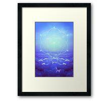 All but the Brightest Star (Sirius Star Geometric) Framed Print