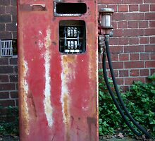 old petrol pump Melbourne by Juilee  Pryor