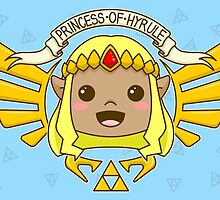 Zelda, Princess of Hyrule (Wind Waker Variant) by TheWhaleBaby
