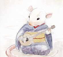 Maiko Rat - Shamisen by rotem