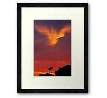 SoCal Sunset 9/11 Framed Print