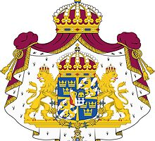 Greater Coat of Arms of Sweden  by abbeyz71