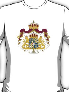 Greater Coat of Arms of Sweden  T-Shirt