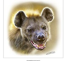 SPOTTED HYAENA 1 by DilettantO