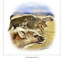SPOTTED HYAENA 2 by DilettantO