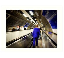 Waterloo walkway Art Print