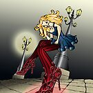 The Dancing Red Shoes by Kida-Lee