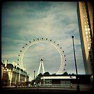 London Eye by kathy archbold