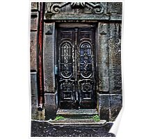 The Old European Door Fine Art Print Poster