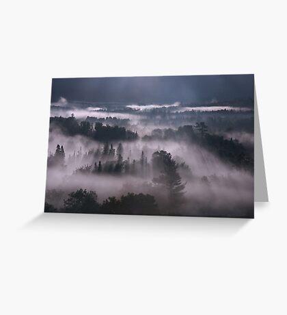 White Mountain Dawn Greeting Card